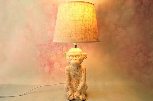 Elegante Tischlampe im angesagten Jungle-Look – Höhe ca.: 46 cm