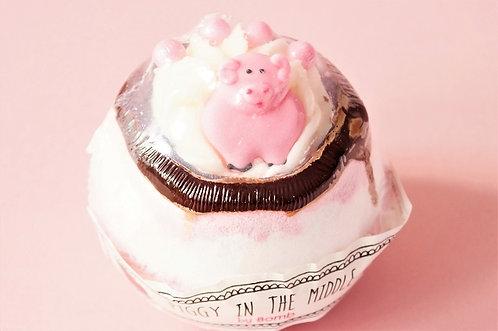 Piggy in the Middle - die besondere Badebombe - 160 g Luxus