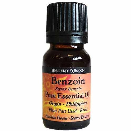 BENZOE-ÖL - 100 % NATUR! 10 ml ätherisches Öl
