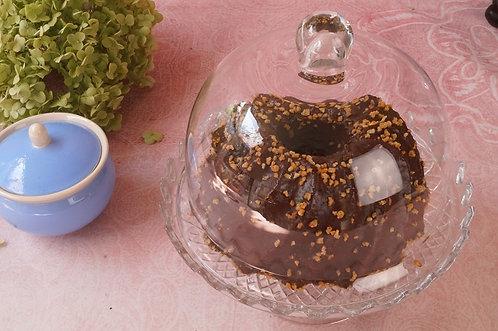 Tolle Kuchenglocke / Käseglocke aus Glas