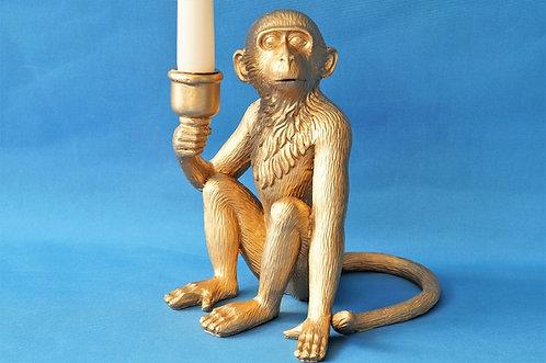 Stylischer Affen-Kerzenleuchter – entzückendes und freches Äffchen