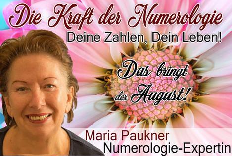 NUMEROLOGIE – die Kraft der Zahlen! Expertin Maria Paukner sagt uns, was der August bringt.