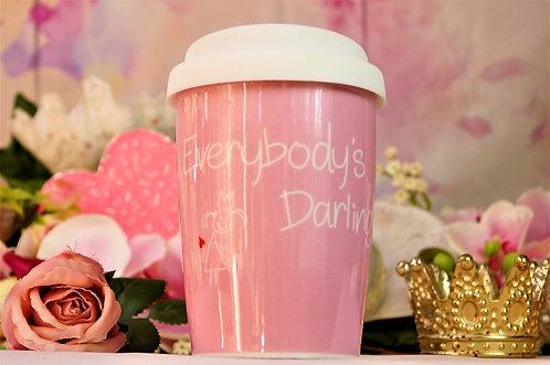 Coffee 2 Go aus Porzellan 250 ml – not EVERYBODYS DARLING
