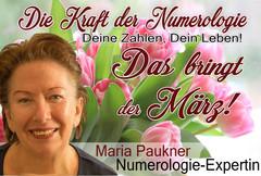 NUMEROLOGIE – die Kraft der Zahlen! Expertin Maria Paukner sagt uns, was der März bringt.