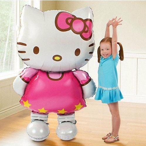 !!RIESIG!! – HELLO KITTY – 65 x 116 cm - mit Ballongas befüllt