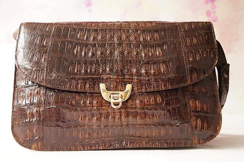 Hochwertig und mit Stil – geniale Vintage Tasche mit verstellbarem Gurt!