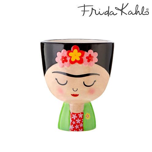 It´s FRIDA! Angesagter Frida Kahlo Blumentopf aus Steingut