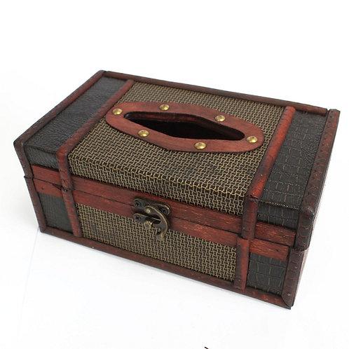Taschentücherbox!!! Handgefertigte Tissue Box im Reisekoffer-Design!