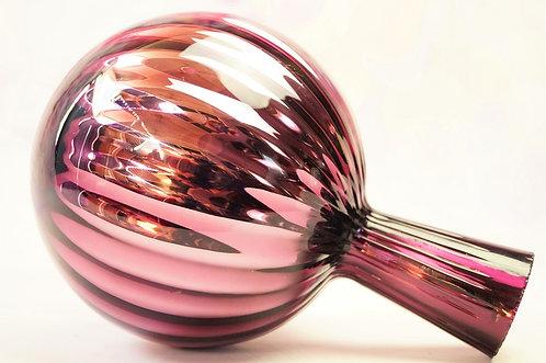 Rosenkugel aus Glas - kleine Kugel – Höhe ca. 17 cm, DM ca. 12 cm