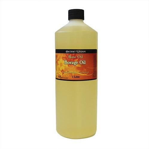 100 % NATUR! 1 Liter REINES & HOCHWERTIGES Borretsch-Öl – gegen trockene Haut