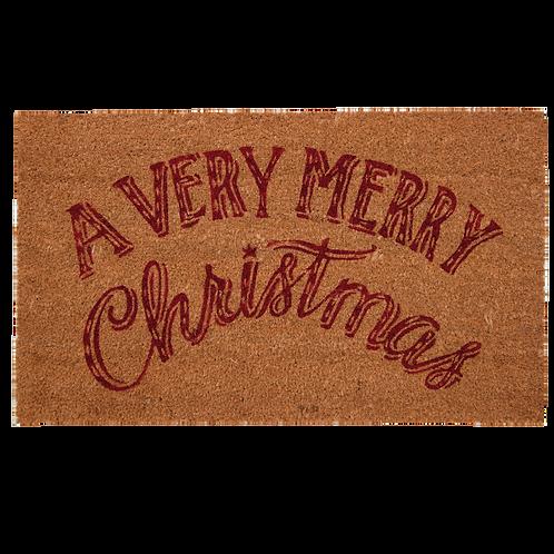 KOKOSTÜRMATTE – A Very Merry Christmas! 75 x 45 cm
