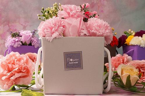 Handgemachtes Badeblumen-Bouquet! ROSA