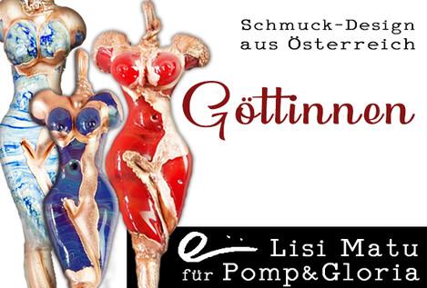 Schmuckdesign aus Österreich Lisi Matu für Pomp&Gloria