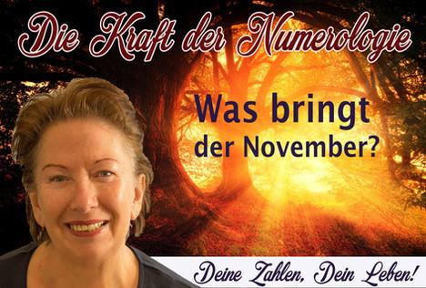 NUMEROLOGIE – die Kraft der Zahlen! Expertin Maria Paukner sagt uns, was der November bringt.