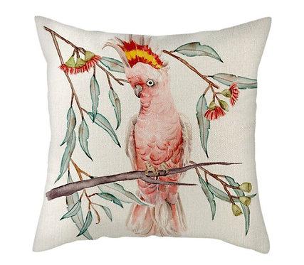 Polster / Kissen im verspielt kultigen Design – Kakadu