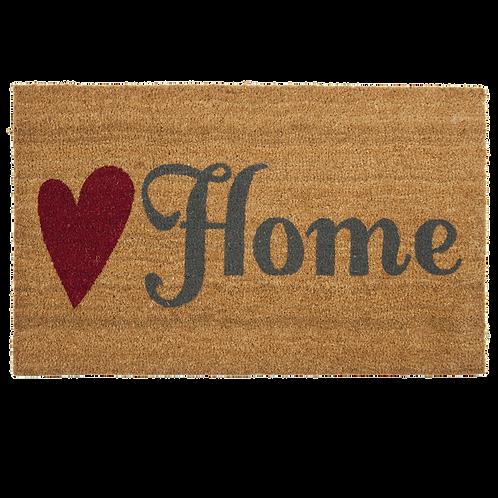 KOKOS-TÜRMATTE – LOVE HOME! 75 x 45 cm