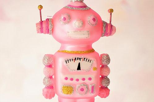 Rosa Roboter - genialer Christbaumschmuck