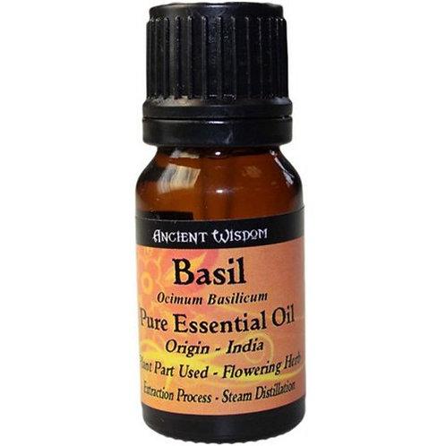 BASILIKUM - 100 % NATUR! 10 ml ätherisches Öl