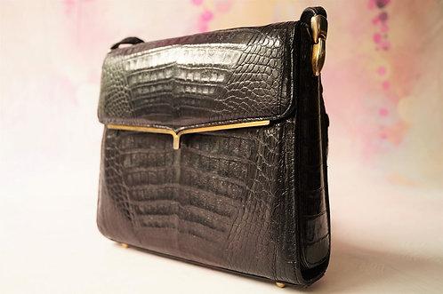 ORIGINAL ALT & GENIAL! Vintage Tasche mit verstellbarem Träger