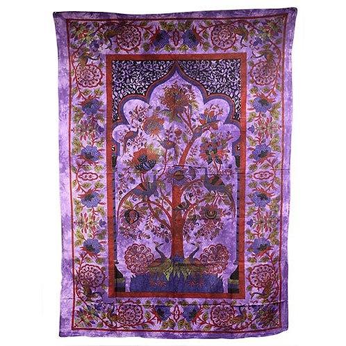 Tagesdecken oder Wandtücher aus Indien Lebensbaum