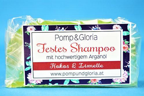 Festes Shampoo - Kokosnuß-Limette speziell für frisches Haar und mehr Volumen