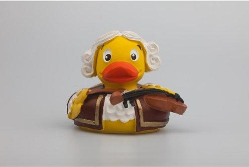Mozart - diese Quietsch-Ente ist ein Original von Austroducks