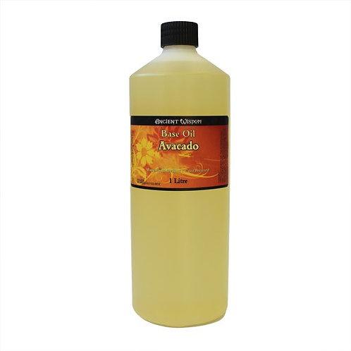 100 % NATUR! 1 Liter REINES & HOCHWERTIGES Avocado-Öl–der Star für Haut und Haar