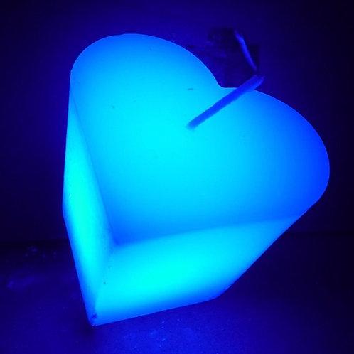 Herzförmige LED-Traumkerzen
