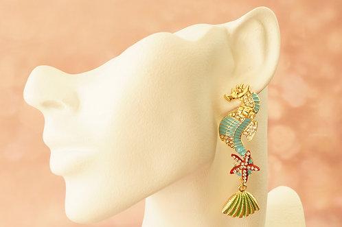 Statement-Ohrring im angesagten Design – ca. 7,2 cm lang
