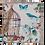 Thumbnail: NEU! Notizbuch im nostalgischen Design – genial! 17 x 17 cm