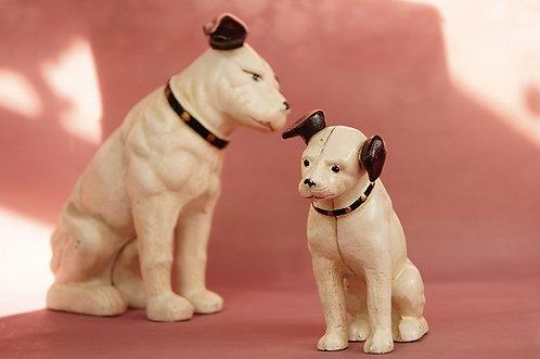 Neu! Sparkasse aus Gußeisen – genialer Hund im Vintage-Chic!