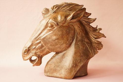 Figur - außergewöhnliche Pferde–Büste