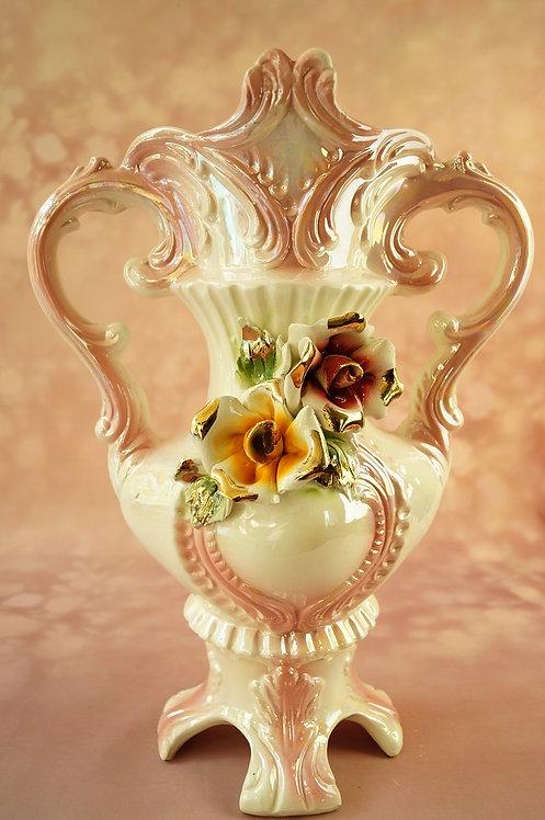 Capodimonte - große, sehr schöne Henkelvase