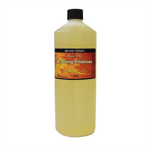 100 % NATUR! 1 Liter REINES & HOCHWERTIGES Nachtkerzen-Öl – für reife Haut