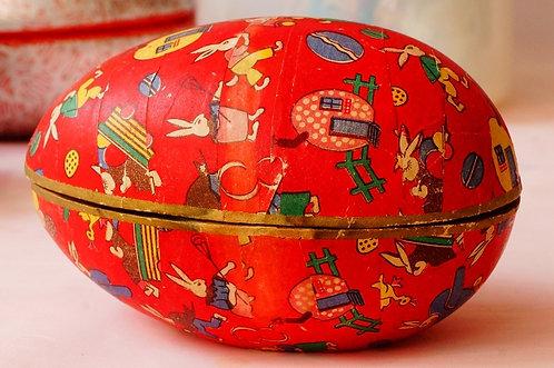Altes, geniales Osterei – ein tolles Sammlerstück als Geschenkidee!