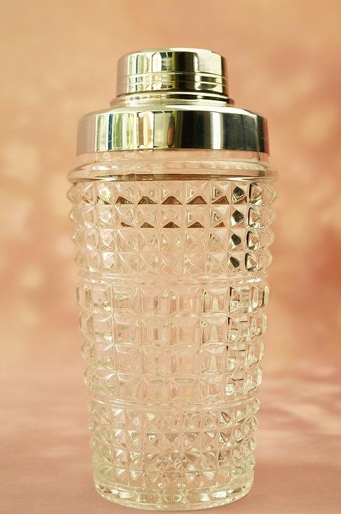 Alter, genialer Cocktailshaker aus Glas
