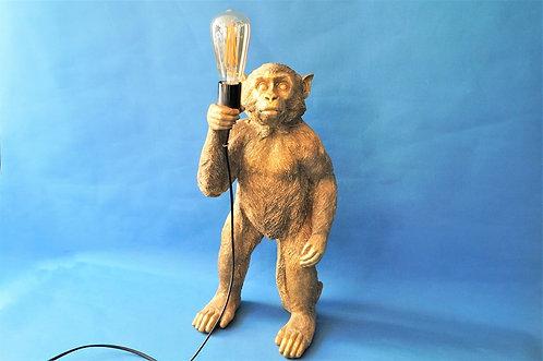 Exquisite und außergewöhnliche Affenlampe – Höhe ca. 50 cm
