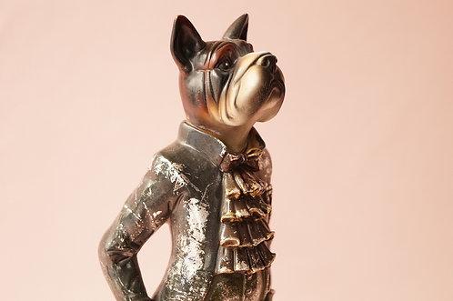 Figur - Hund im Frack