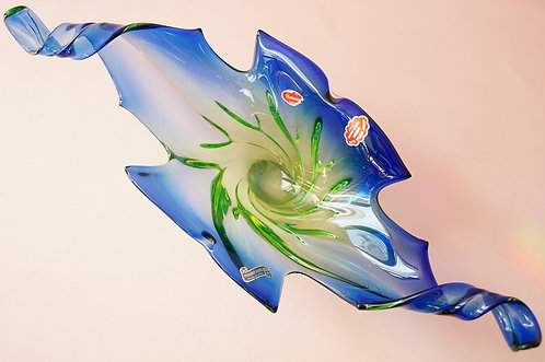 ORIGINAL MURANO! Wunderbar, kunstvolle Prunkschale - geniale Obstschale!