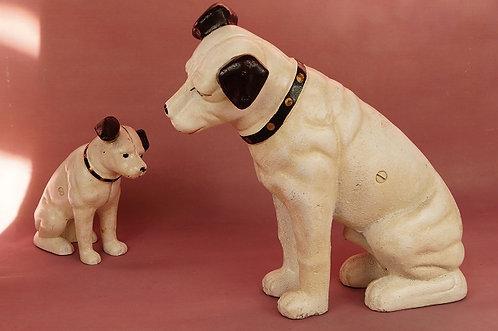 XXL! Neu! Sparkasse aus Gußeisen – genialer Hund im Vintage-Chic!