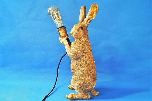Exquisites Design! Geniale, große Hasenlampe – Höhe ca. 47 cm