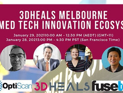Prof Peter Lee to speak at the  3DHEALS Melbourne - 3D Med Tech Innovation Ecosystem Event