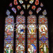 Vitraux -cathédrale de Mirepoixdu Choeur