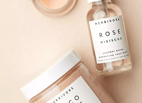 Herbivore Botanicals Coco Rose Luxe Hydration Gift Se