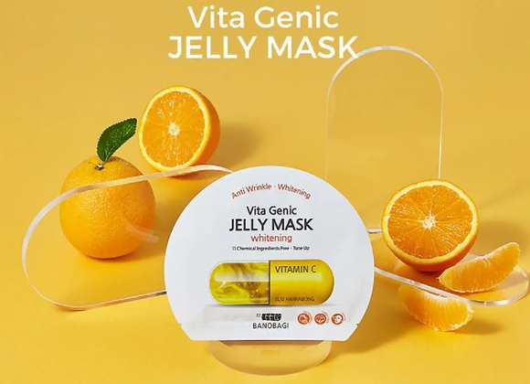 BANOBAGI - Vita Genic Jelly Mask Set - 7 types Lifting