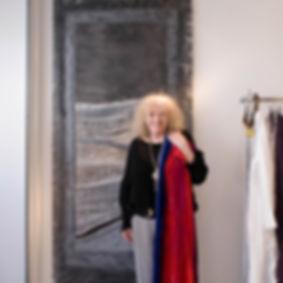 Ann Trewartha 2008 in Glasshouse   shop.