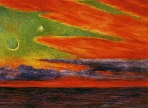 Evening Twilight at Acapulco