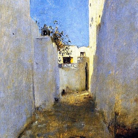 A Moroccan Street Scene