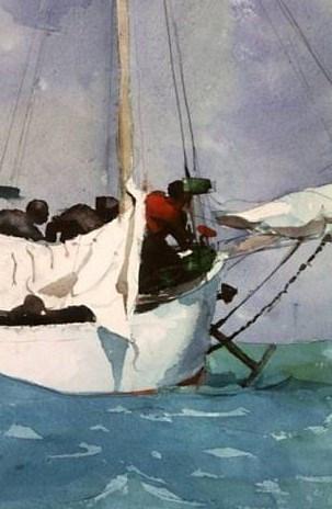 Key West Hauling Anchor