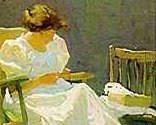 Mrs. N.C. Wyeth in a Rocking Chair